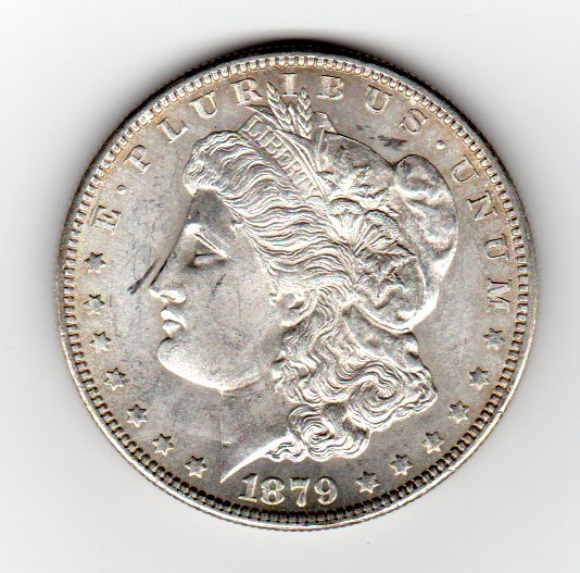 1879 Morgan Dollar